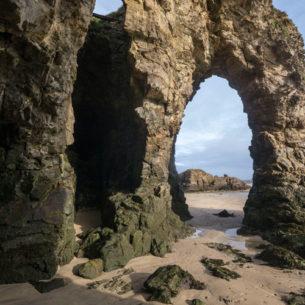 Perranporth Sea Arch